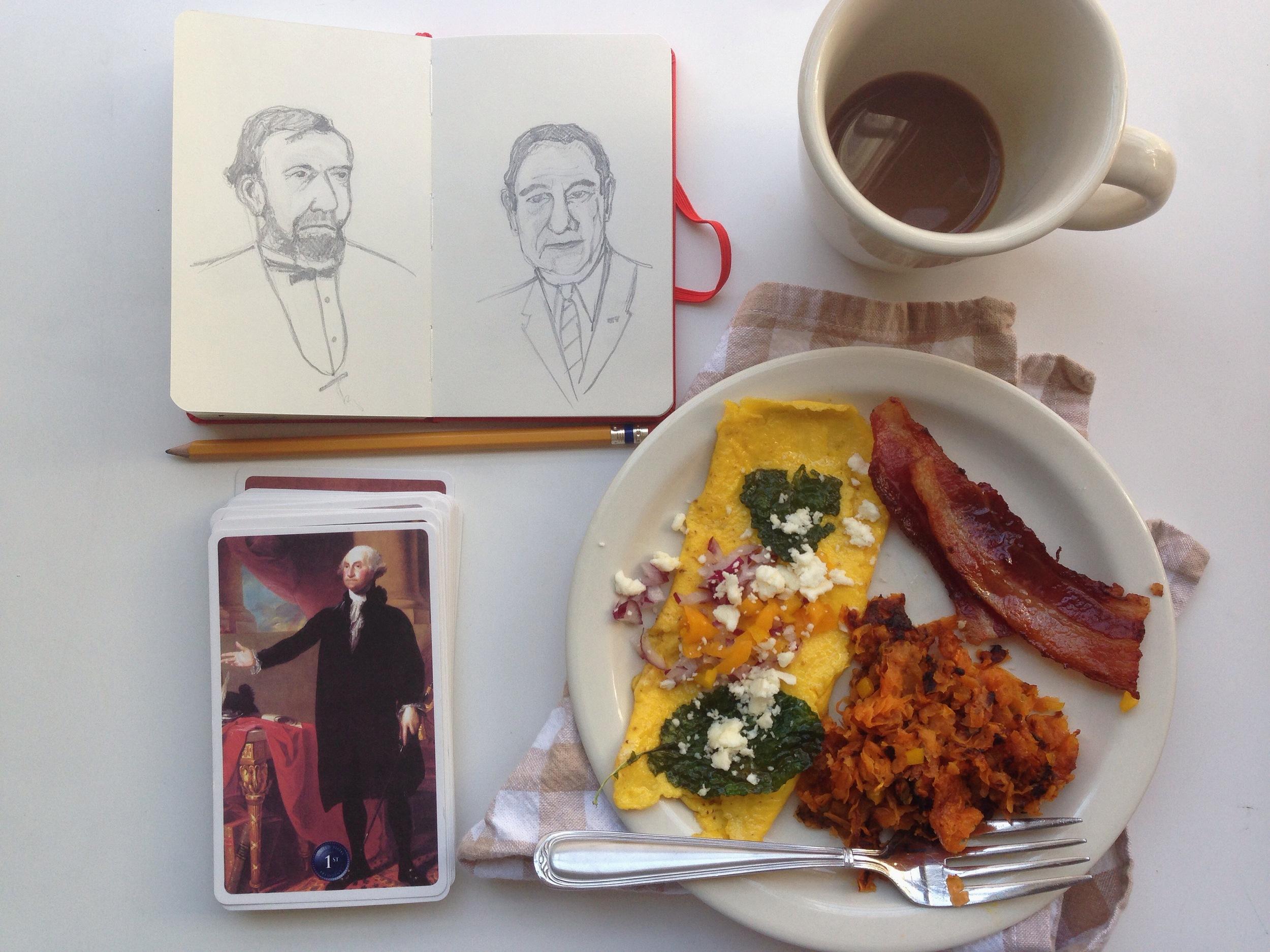 presidents | year of creative habits