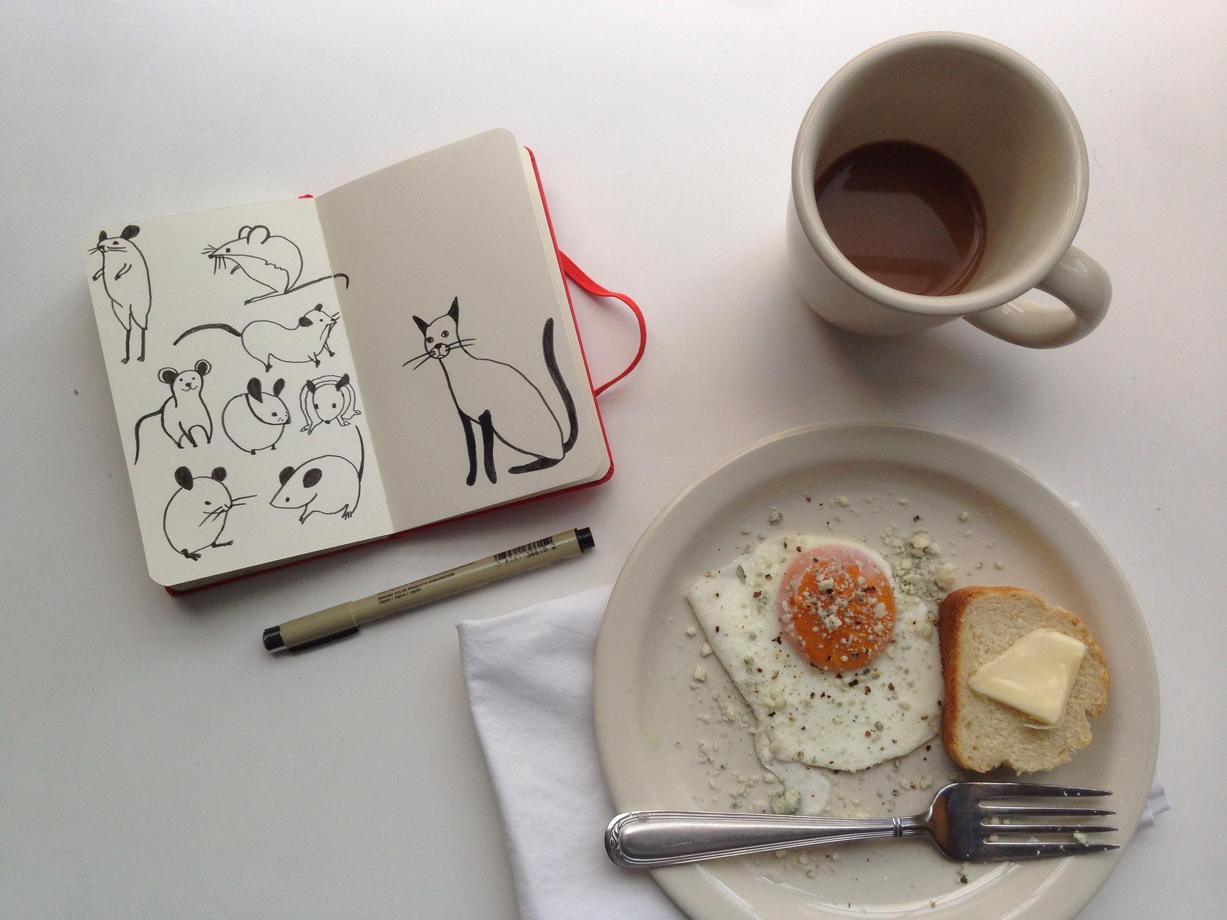 mice | year of creative habits