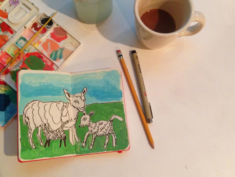 goats | year of creative habits