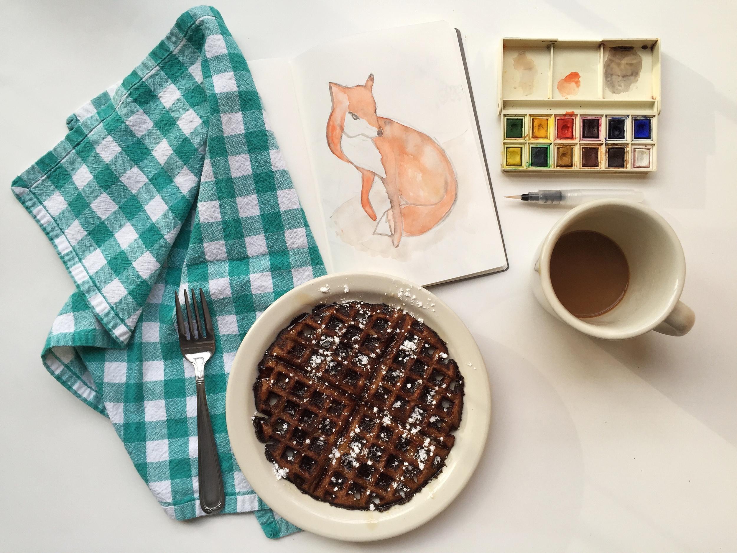 foxy | year of creative habits
