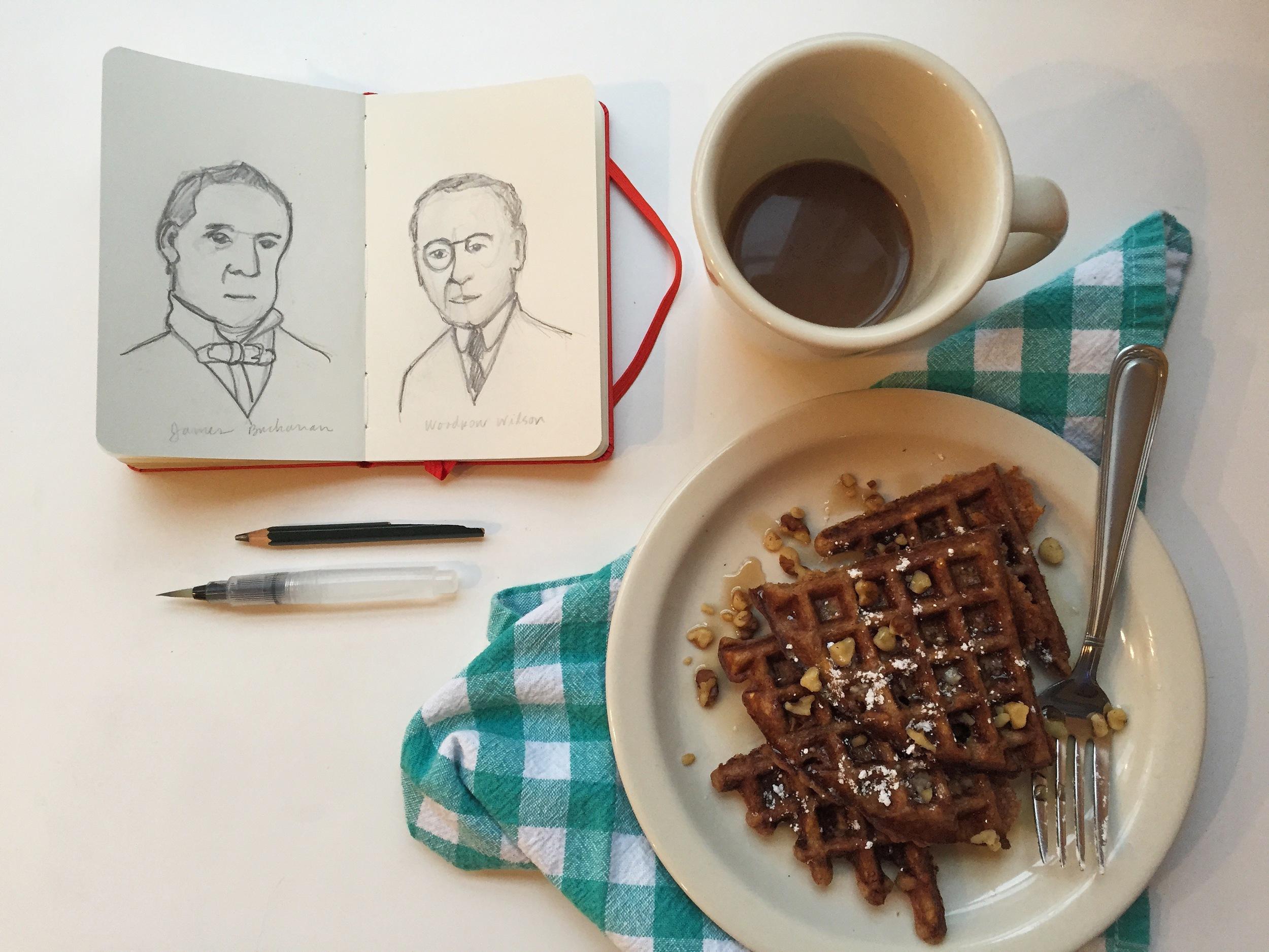 Buchanan & Wilson | year of creative habits