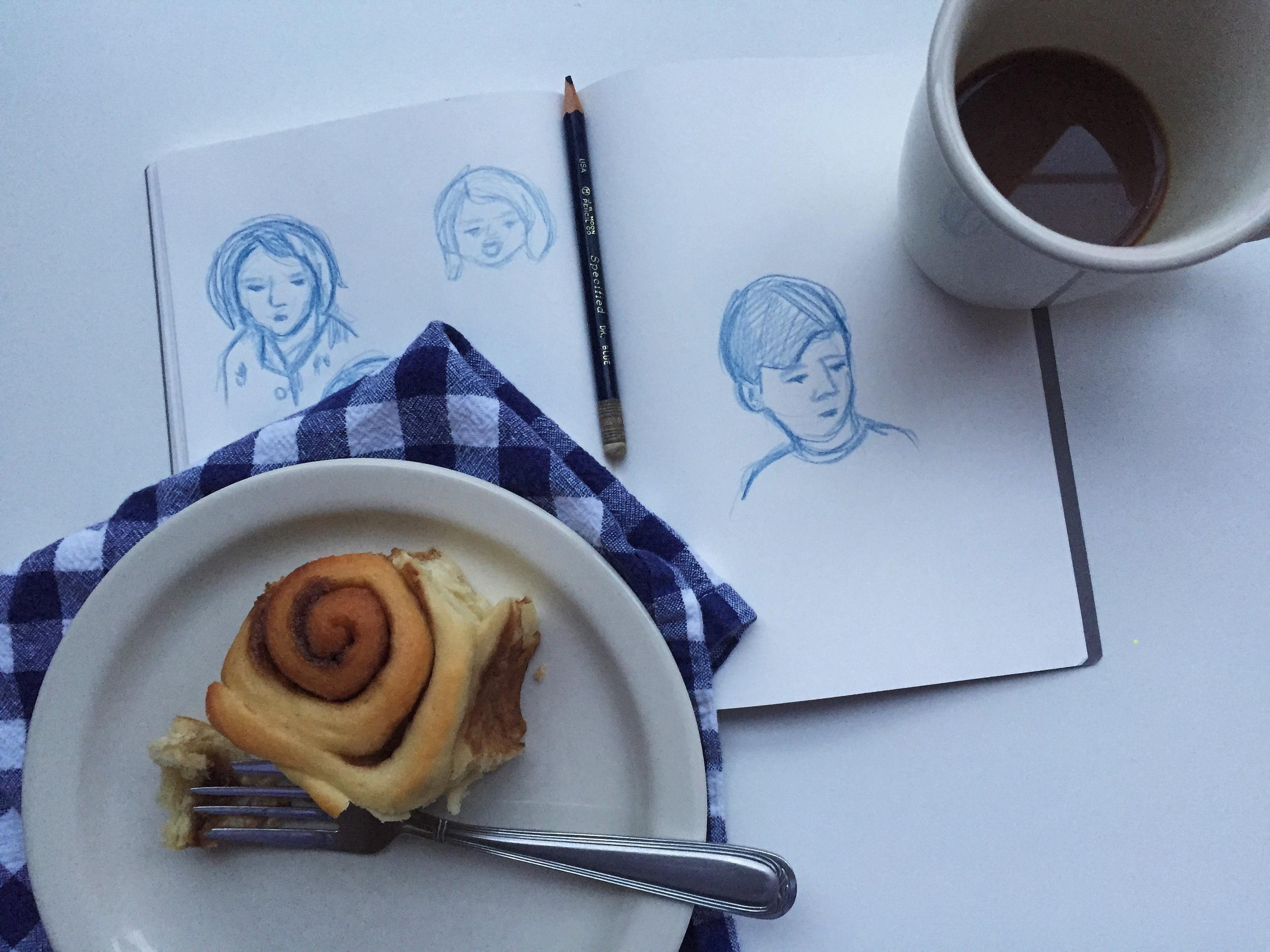gestures   year of creative habits