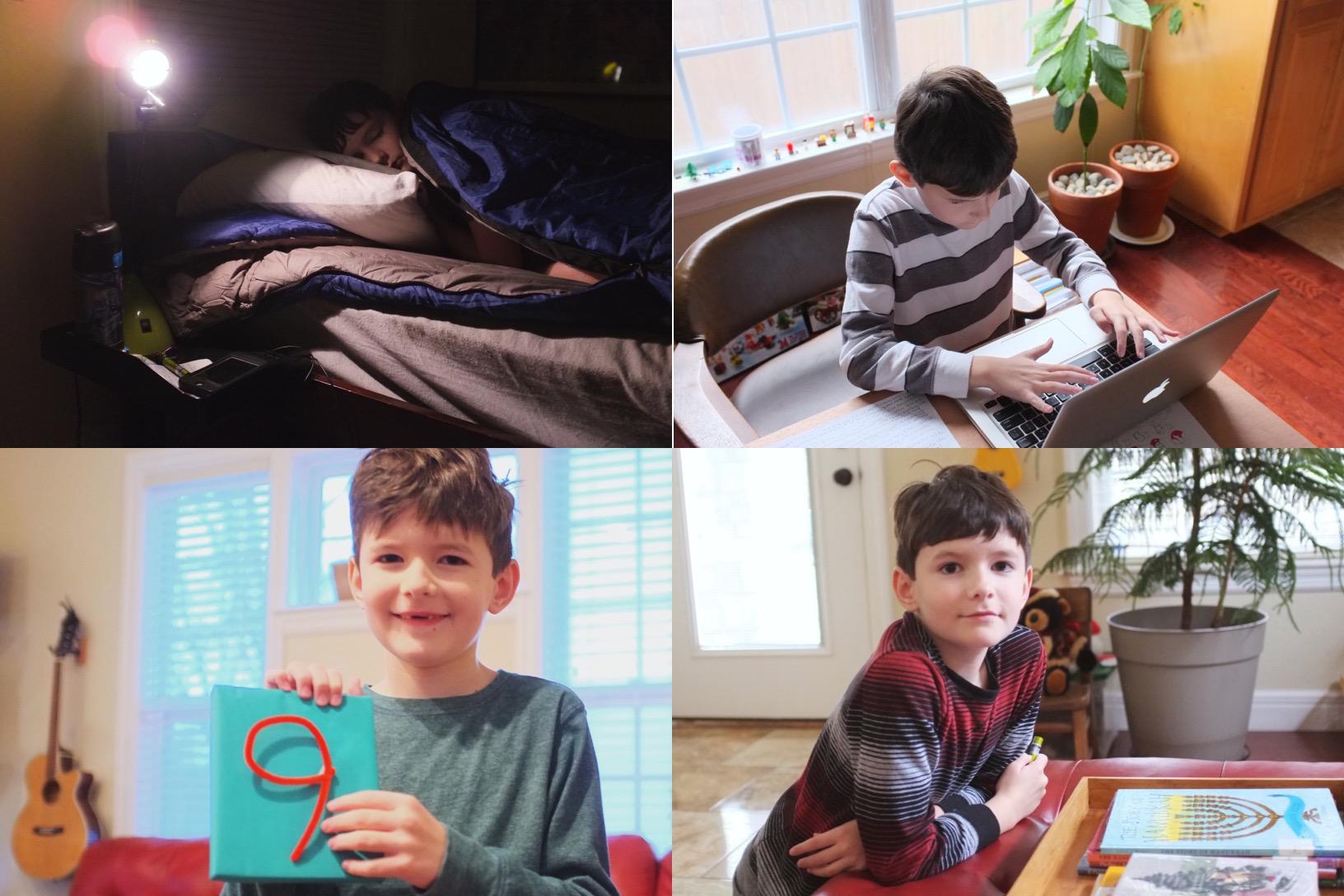 E portrait project | year of creative habits