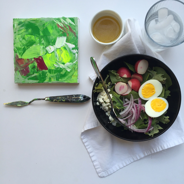 radish + egg | year of creative habits