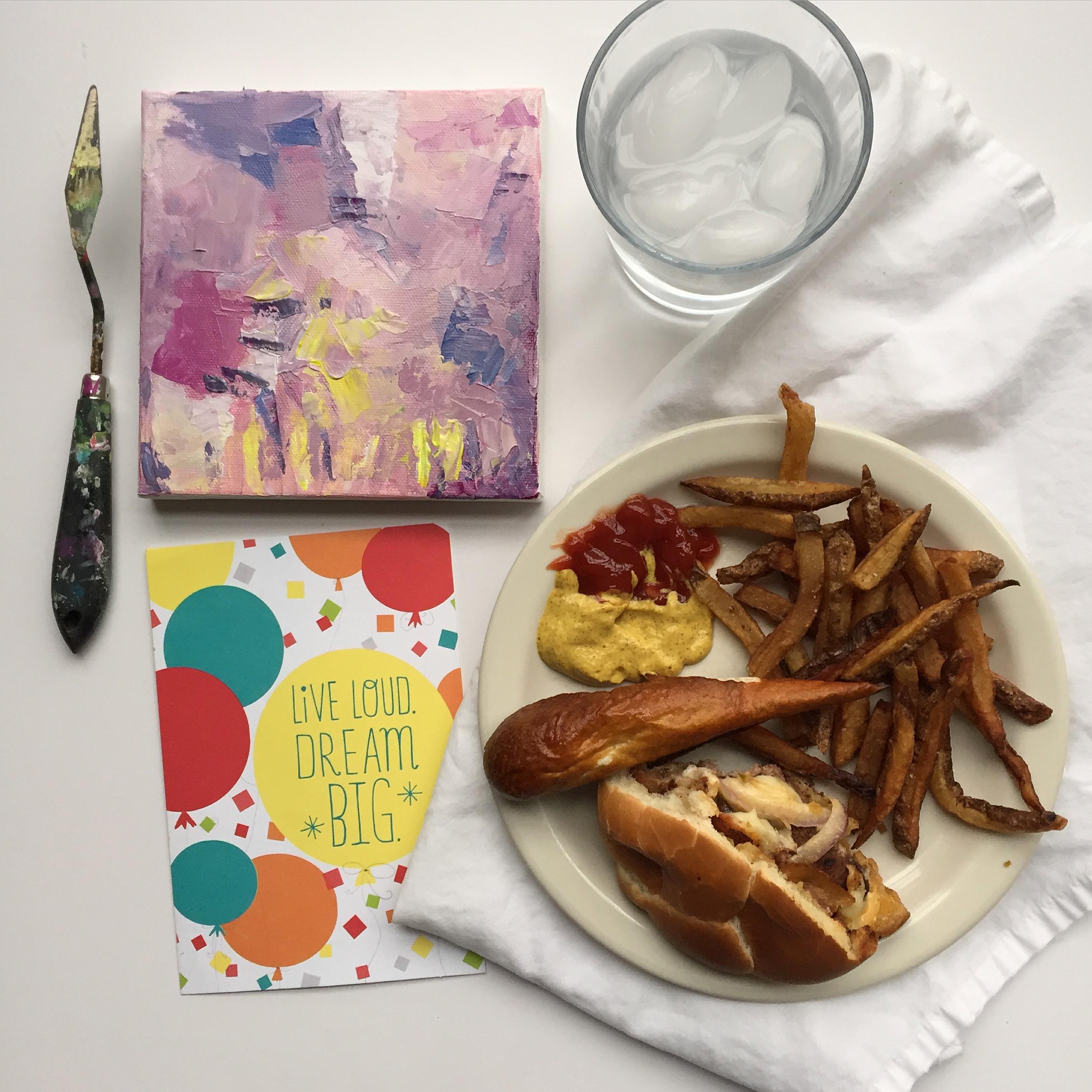 birthday celebration | year of creative habits