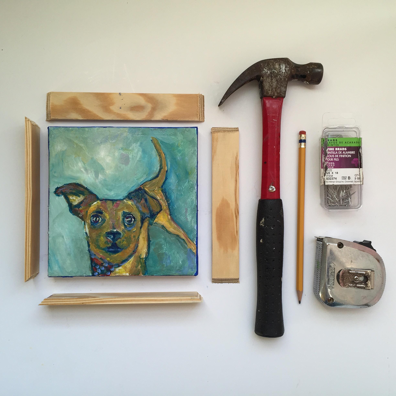 framing DIY   year of creative habits