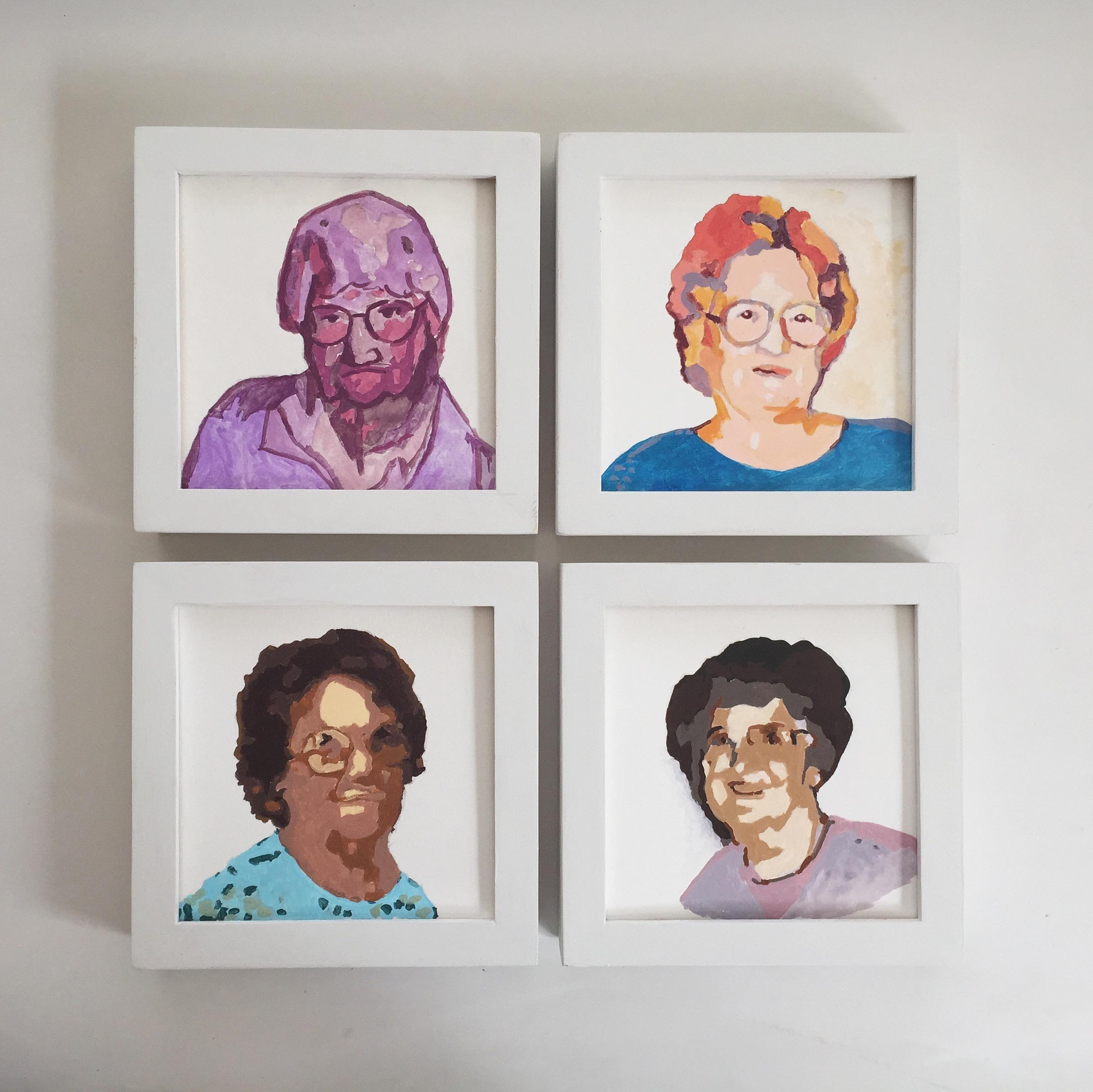 portrait series   year of creative habits