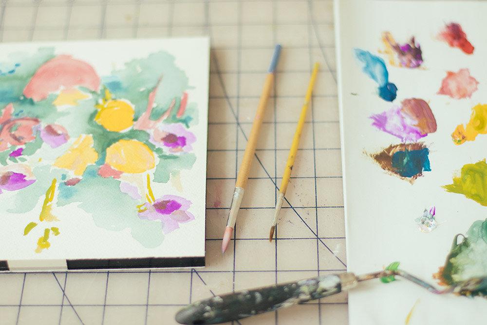 brushes   year of creative habits