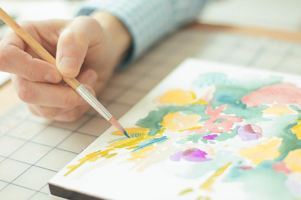 brush   year of creative habits