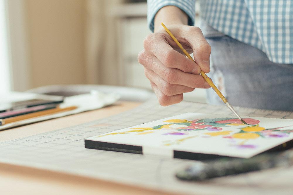 hand   year of creative habits