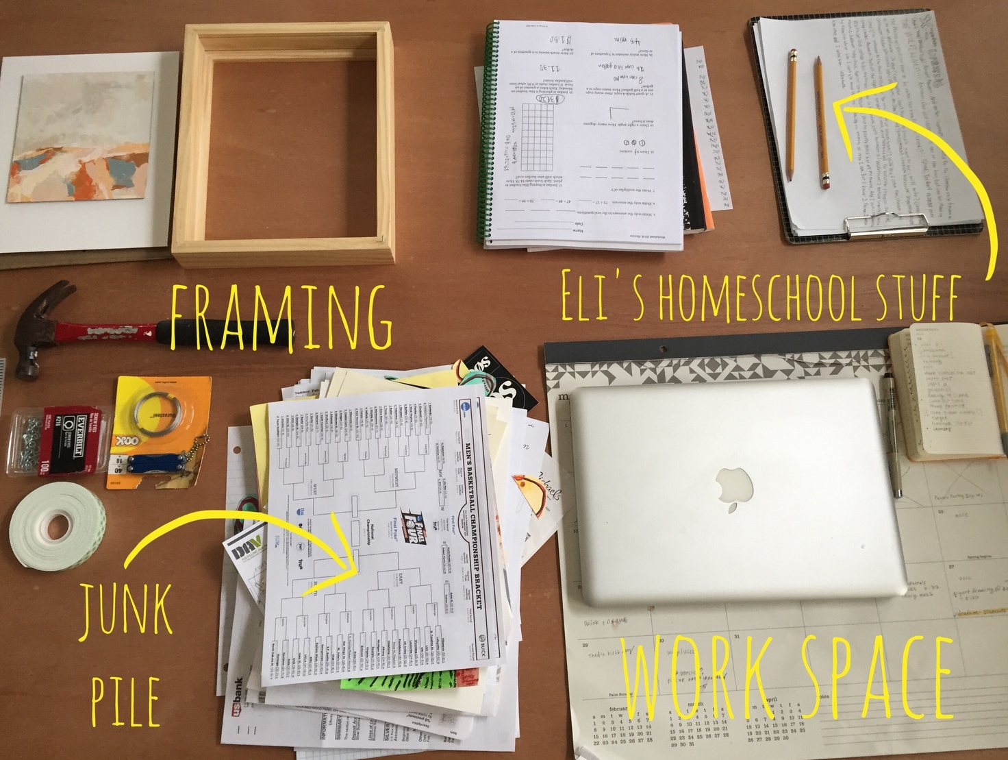 work space   year of creative habits