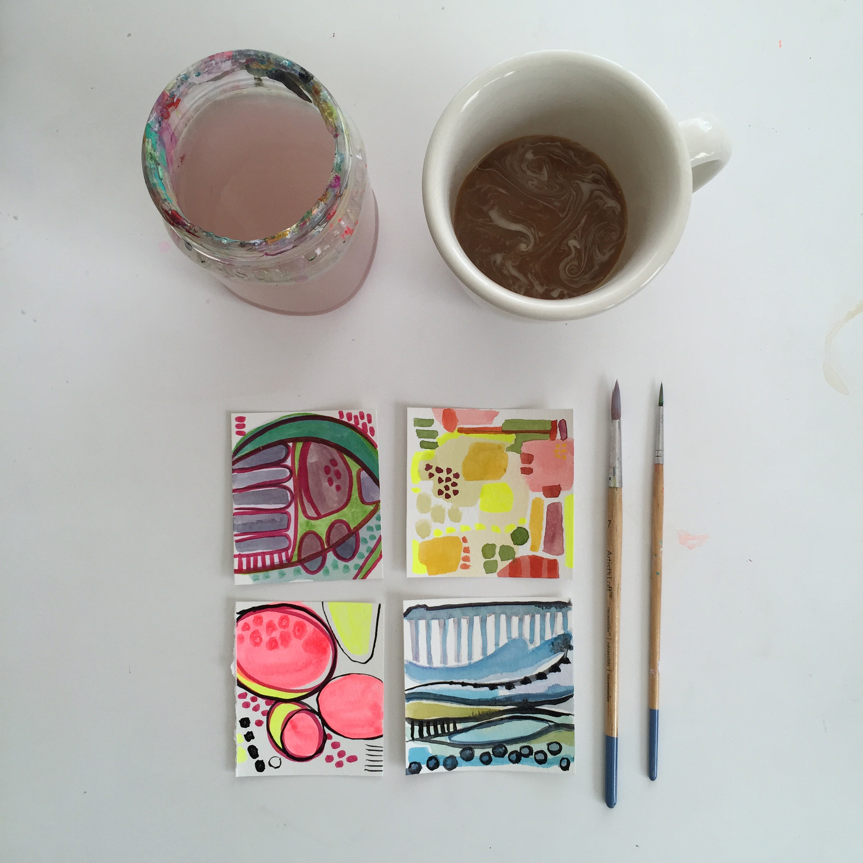 thumbnails | year of creative habits