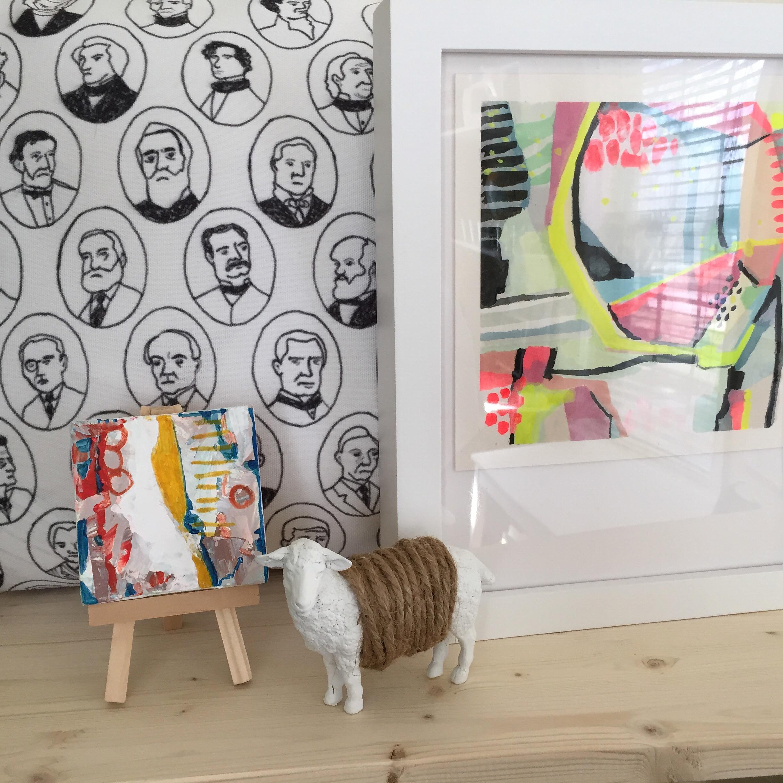 display | year of creative habits