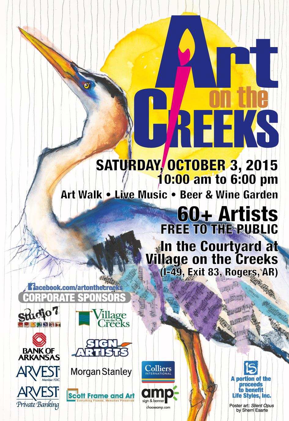 art on the creeks   Rogers, AR
