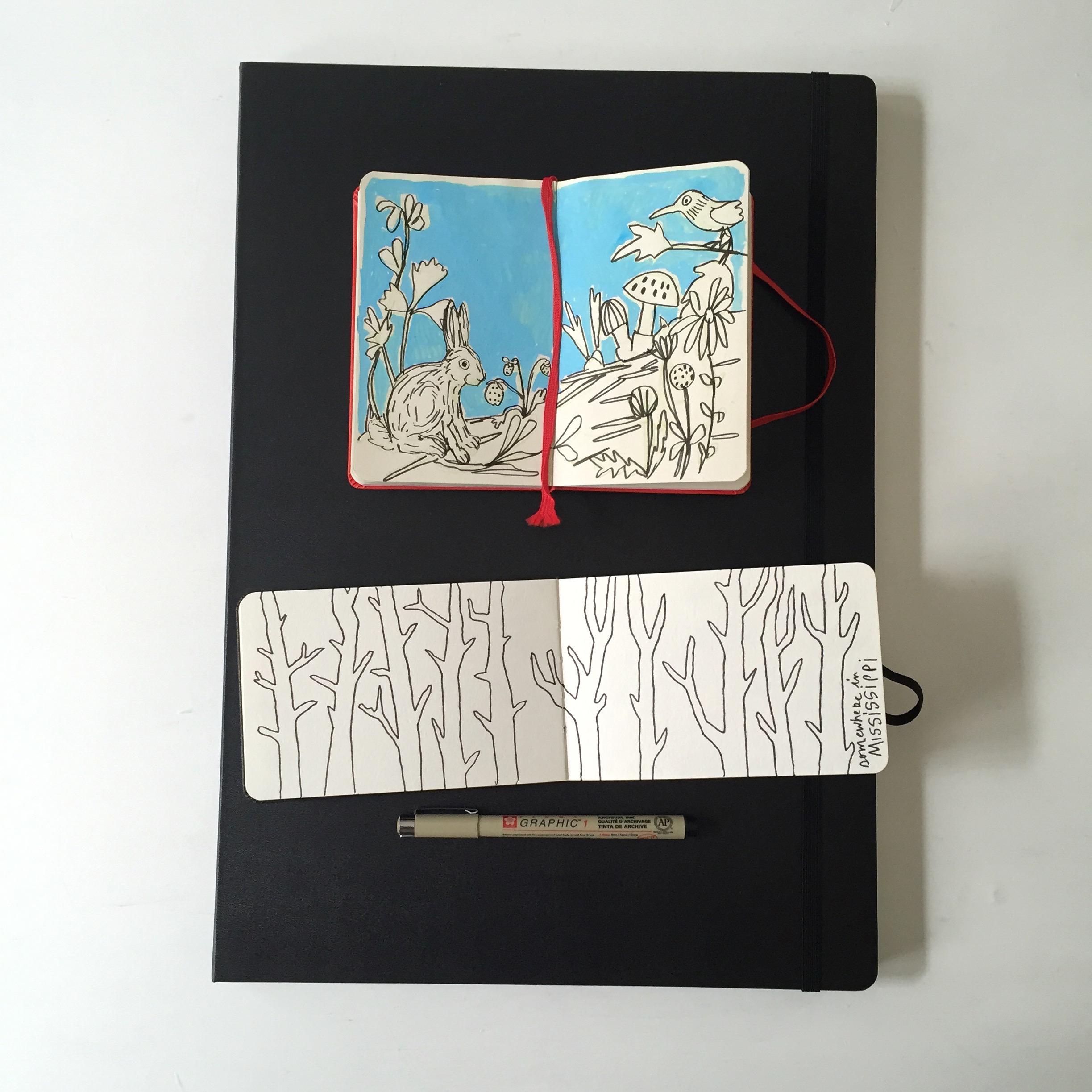 crystal moody | sketchbooks
