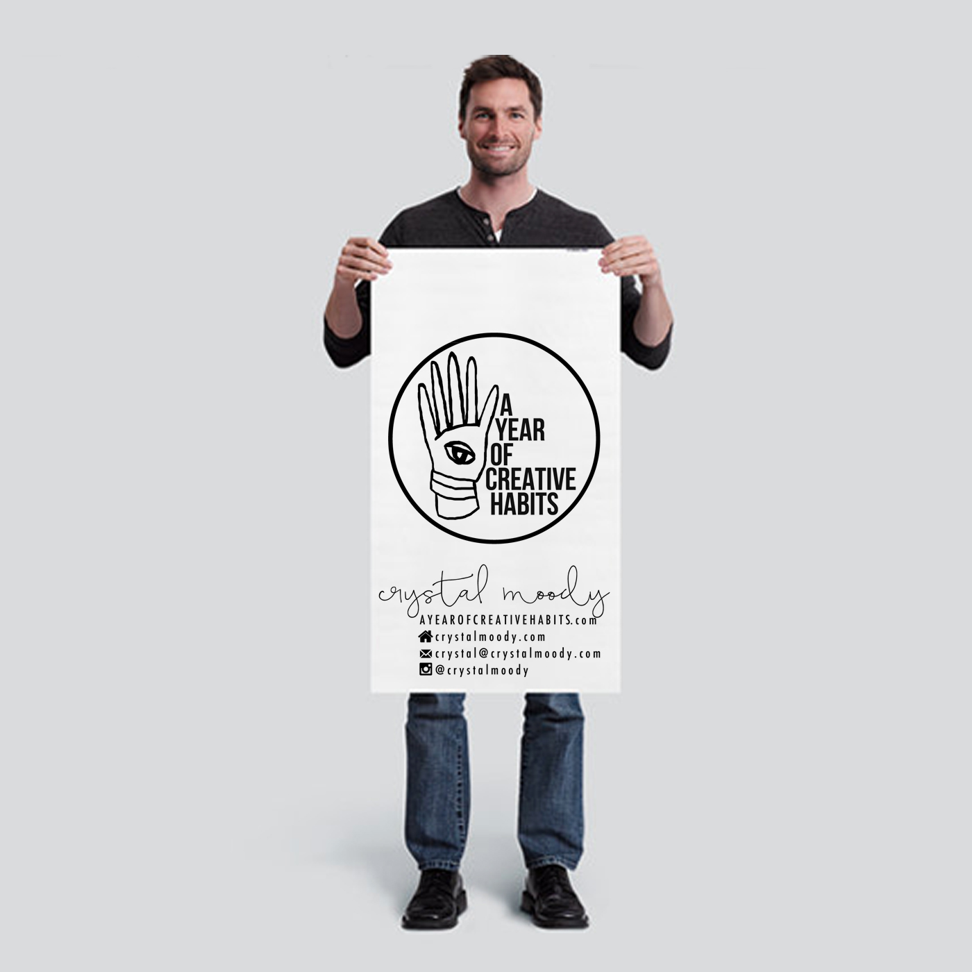 year of creative habits | banner