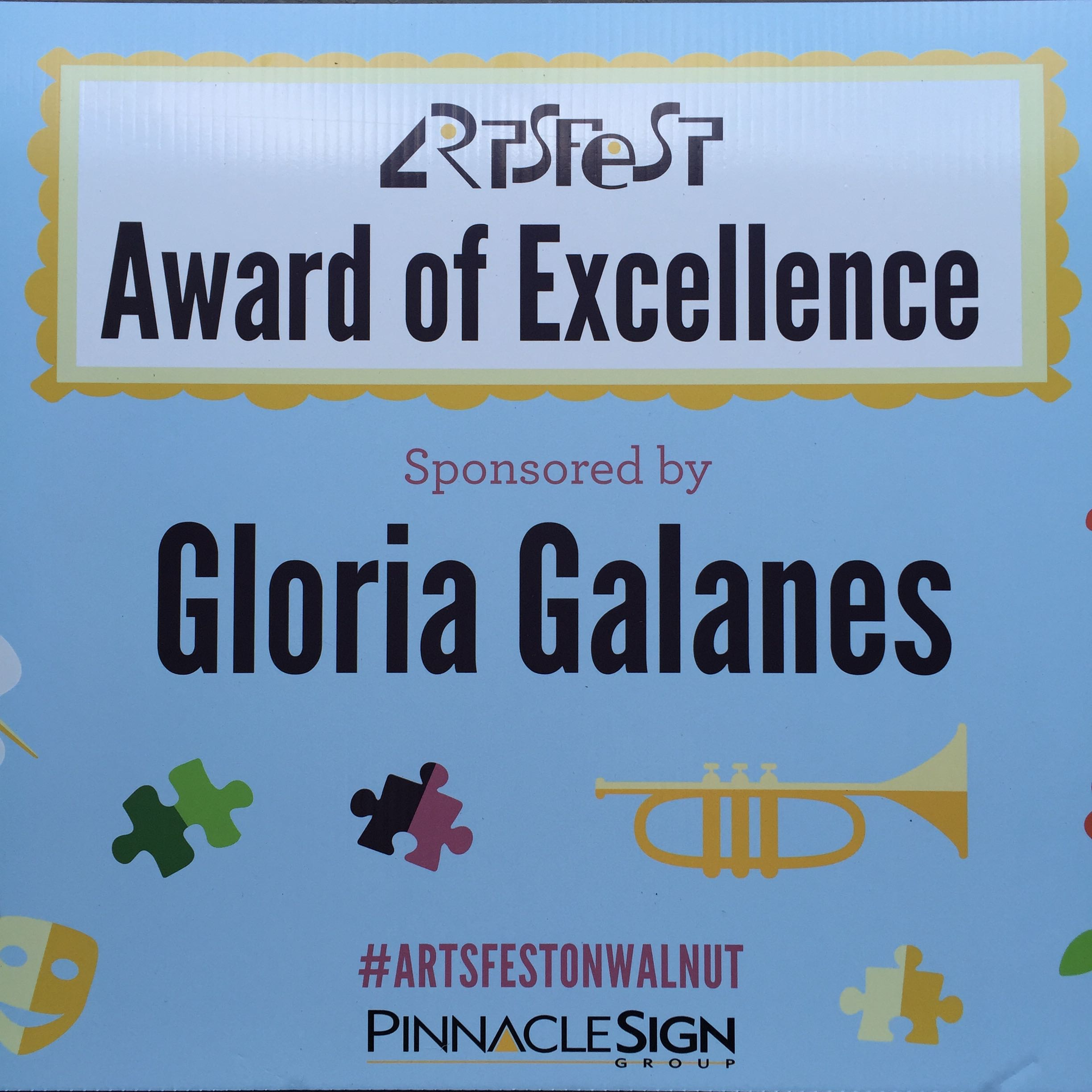artsfest | Gloria Galanes Award of Excellence