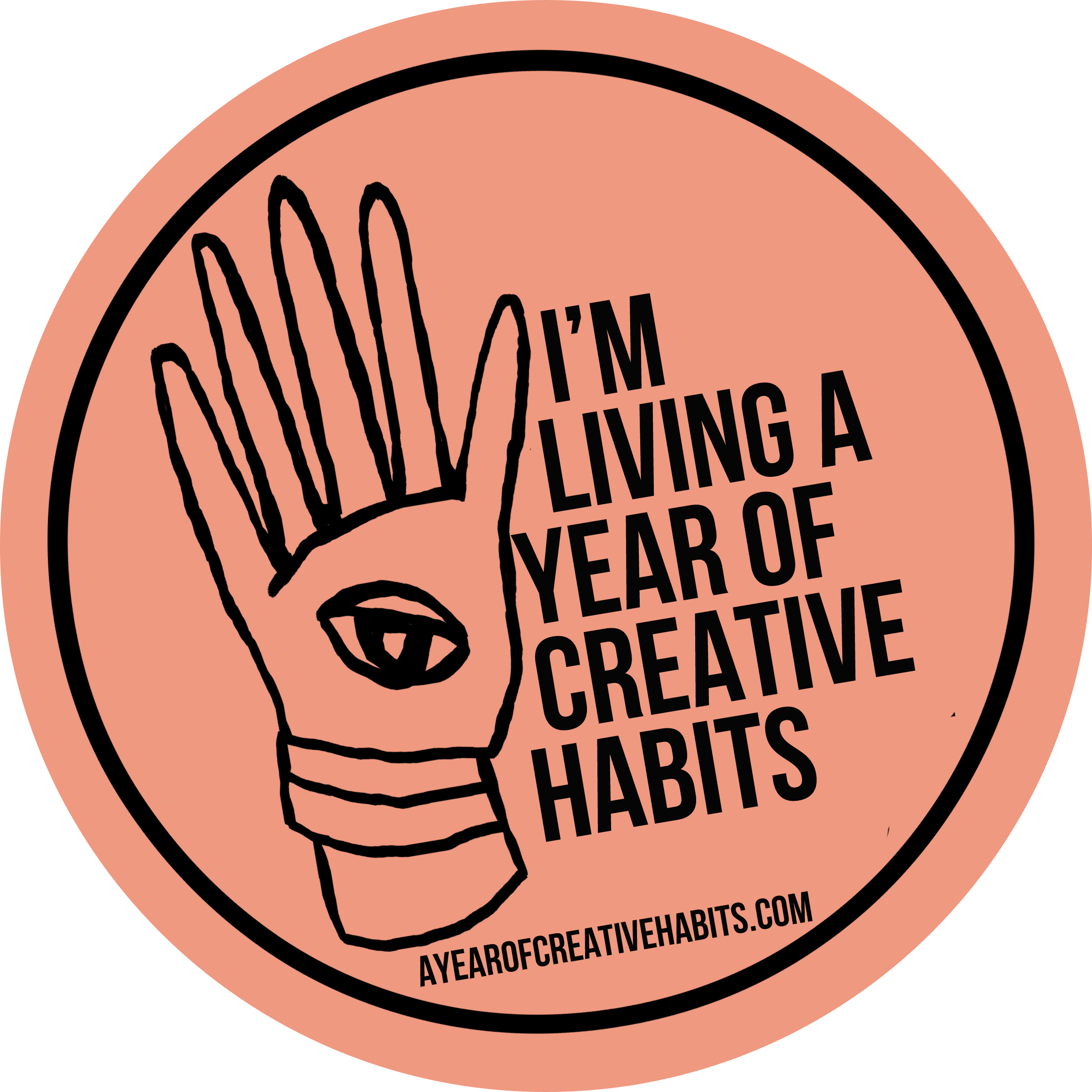I'm living a year of creative habits!