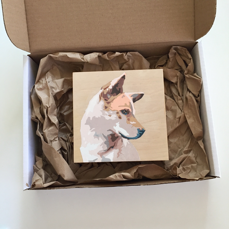 crystal moody | pet portrait commission