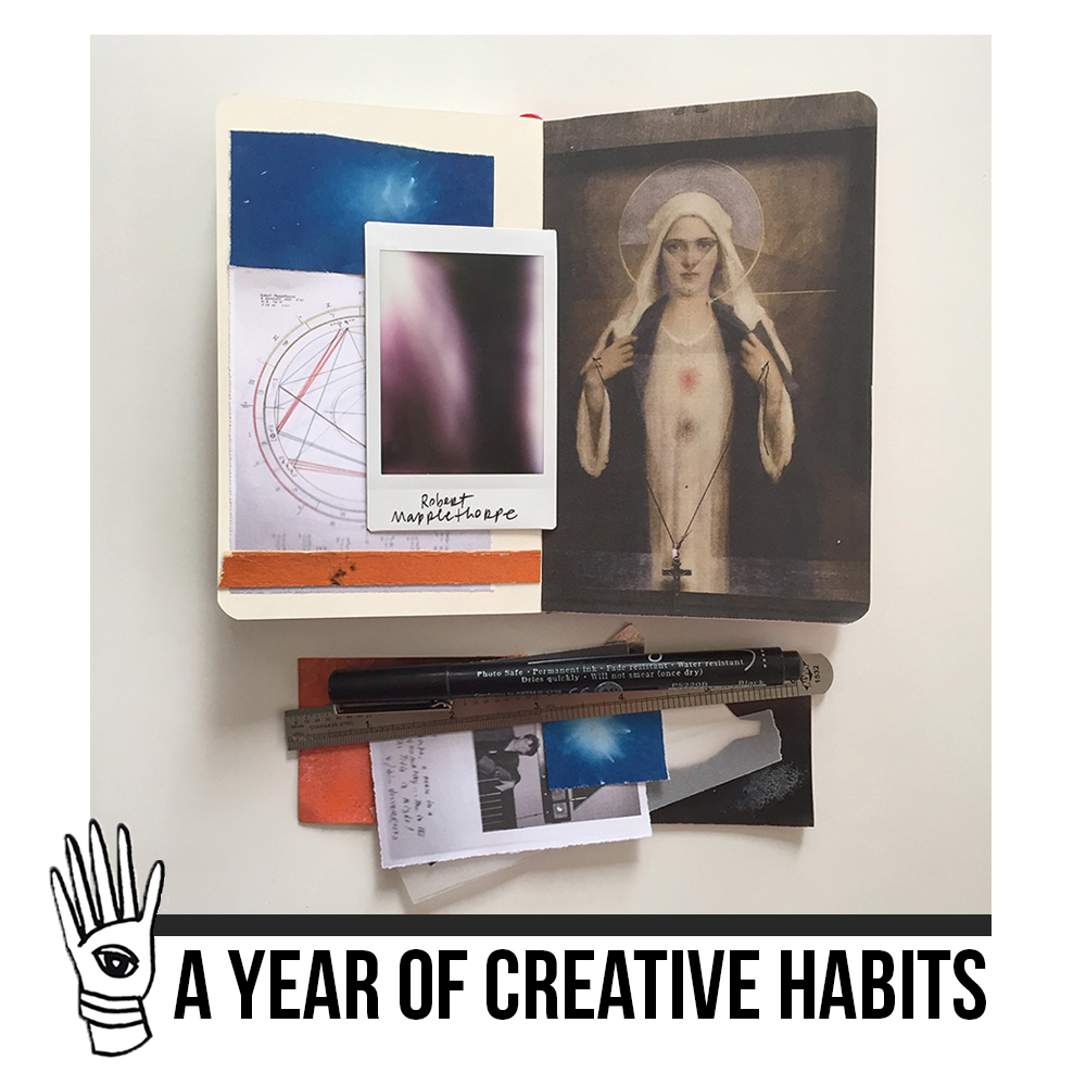 a year of creative habits course | crystal moody