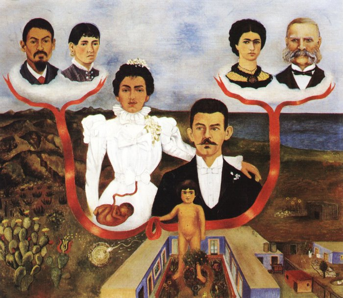 Frida Kahlo | My Grandparents, My Parents and I