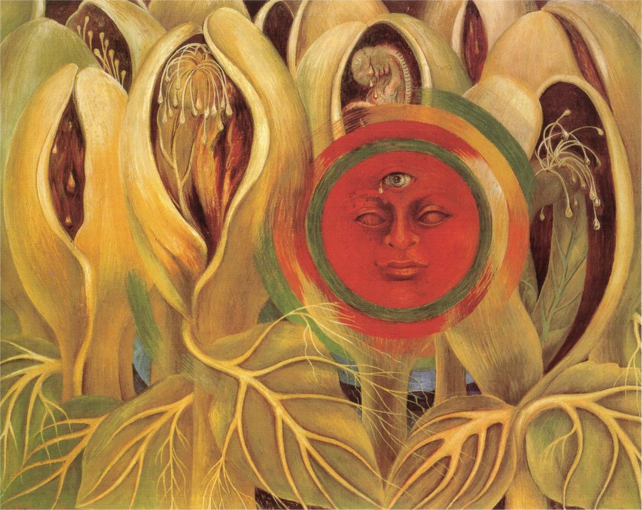 1947 Sun and Life   Frida Kahlo