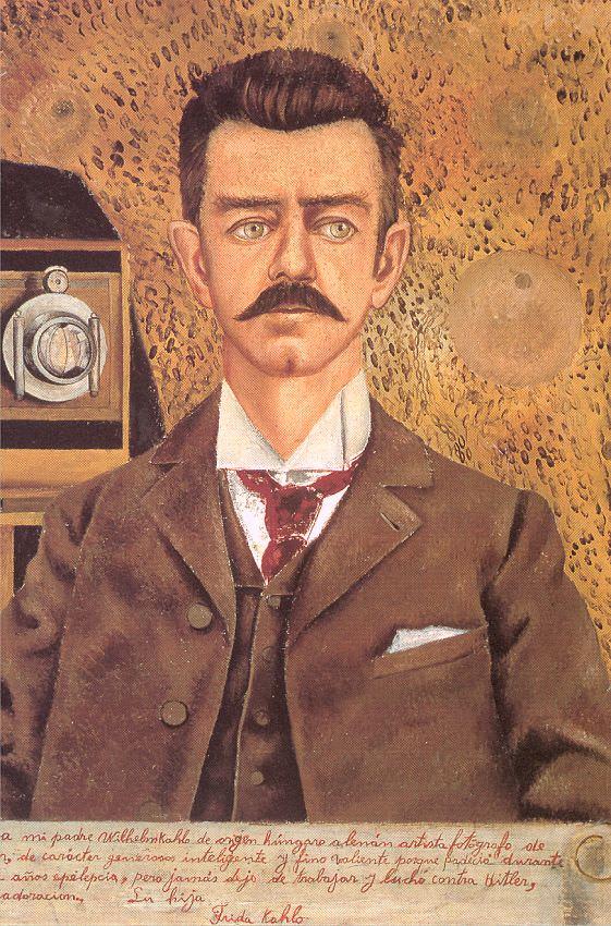 1951 Portrait of my Father   Frida Kahlo