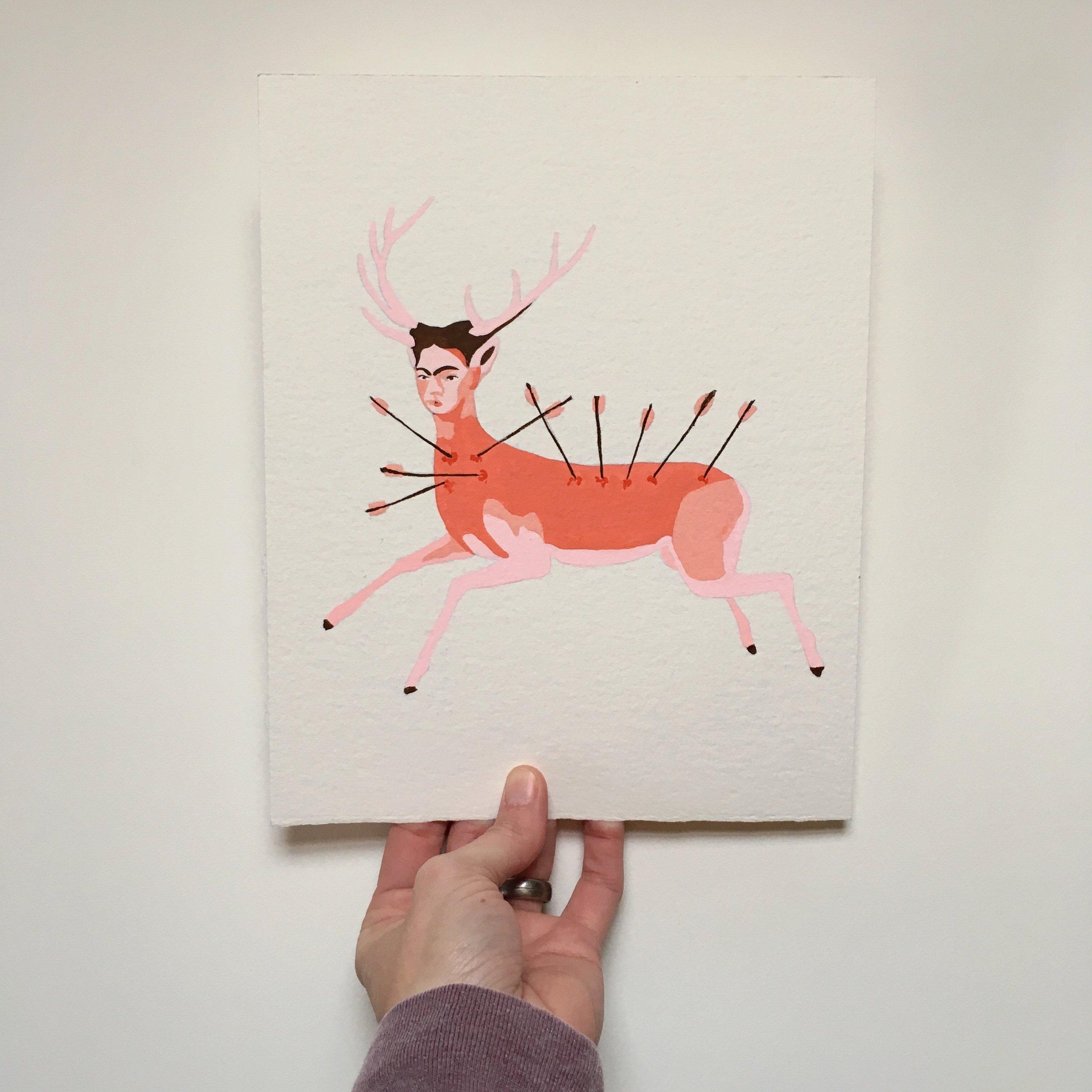 crystal moody   #deadartistsscociety :: Frida Kahlo