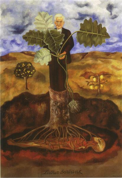 frida kahlo | portrait of Luther Burbank