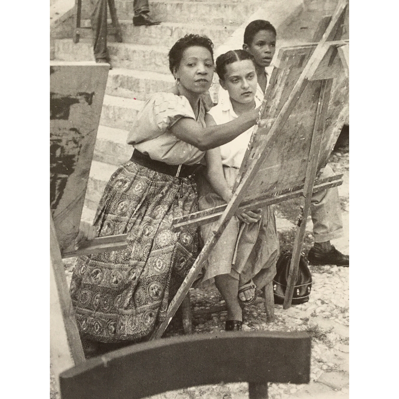 Loïs Mailou Jones teaching in Haiti