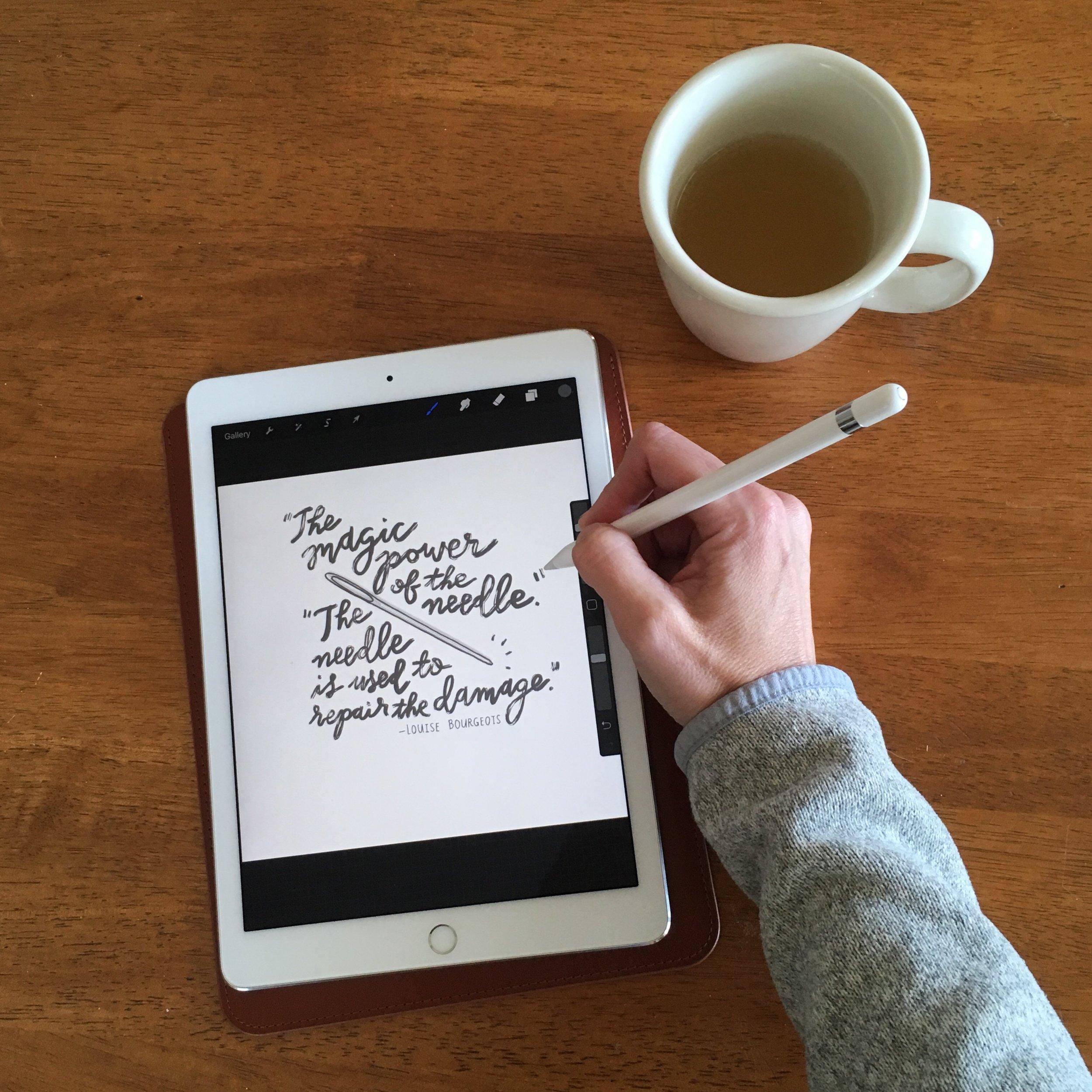 crystal moody | iPad Pro + Apple Pencil