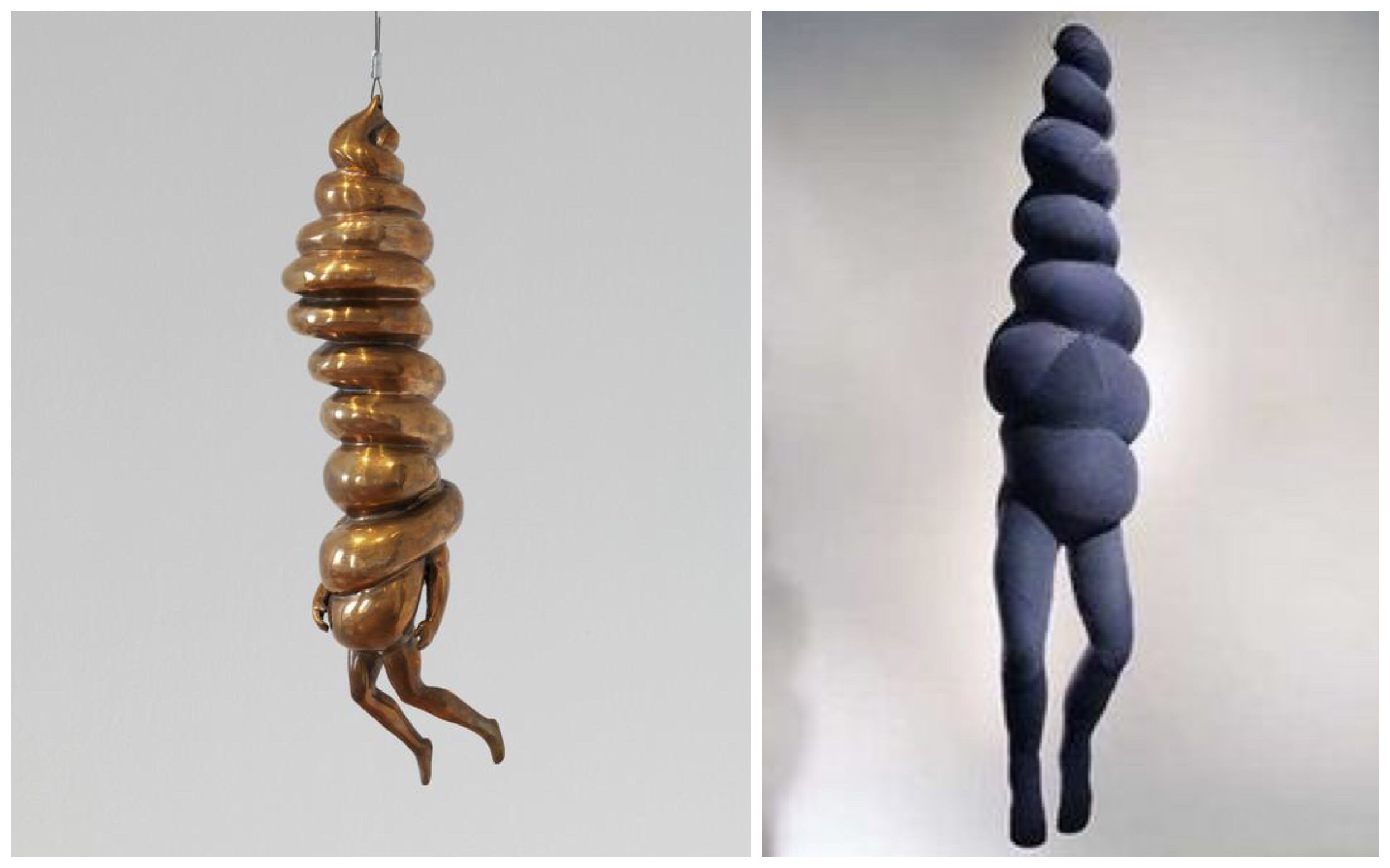 Spiral Woman, 1984 and Spiral Woman 2003
