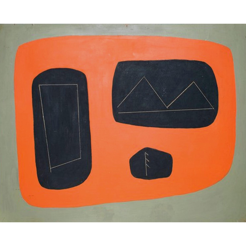 Agnes Martin | Untitled, 1949