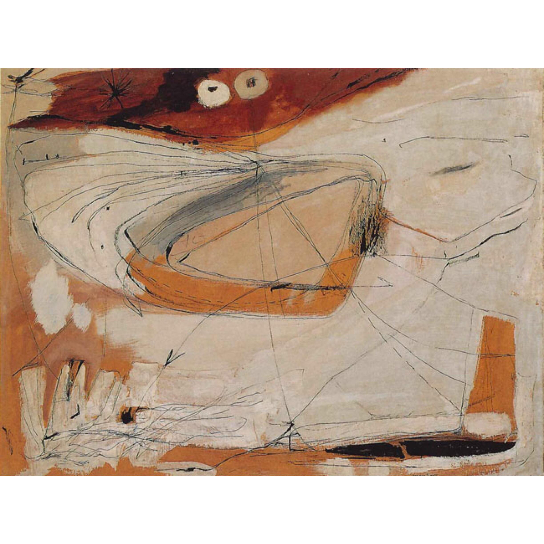 Agnes Martin |Untitled, 1954