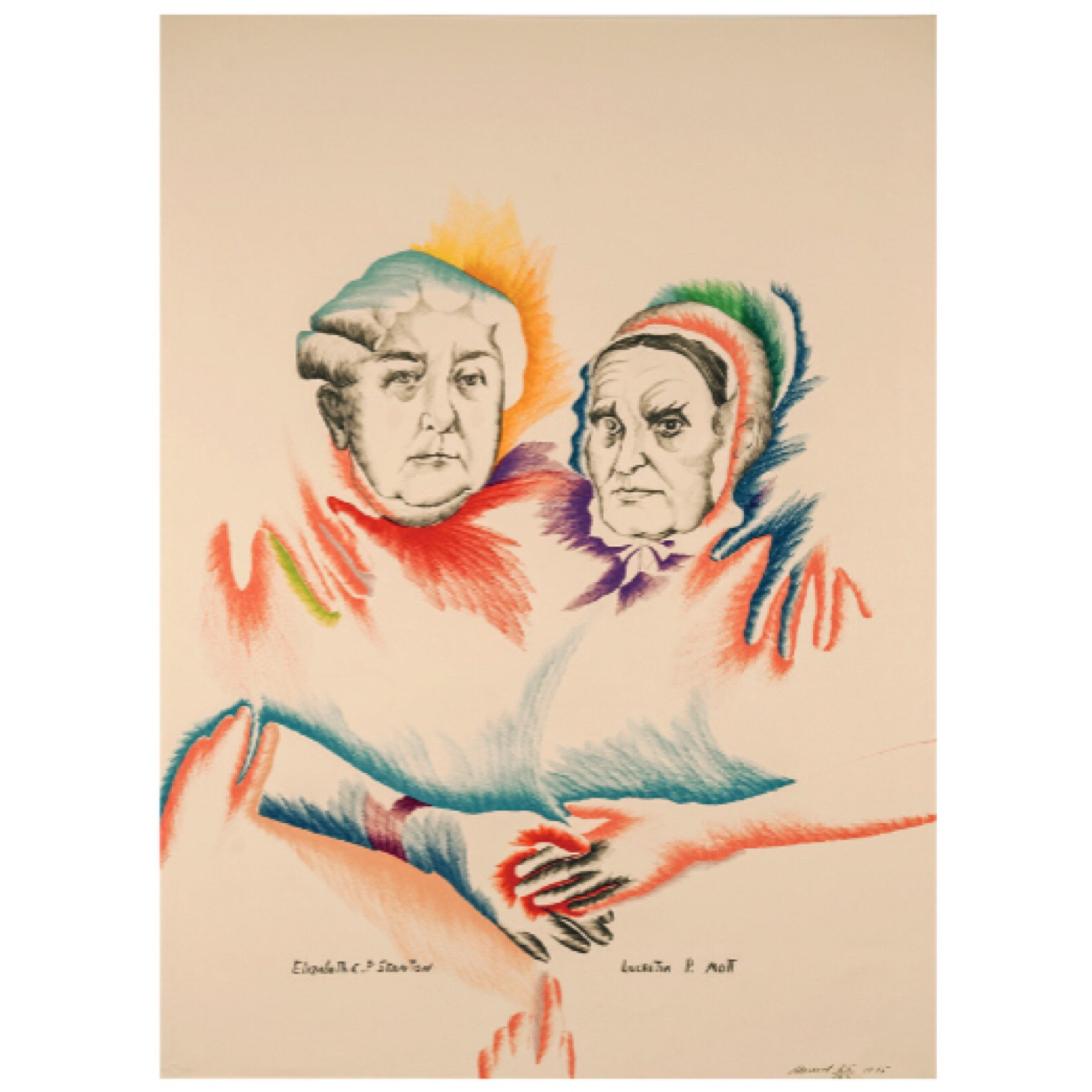 Women's Equality, lithograph 1975