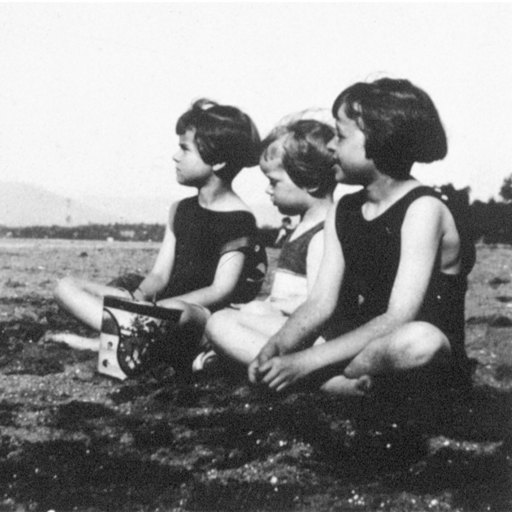 I'm not sure which of these girls is Corita but photo courtesy of  corita.org . Her oldest sibling is Mary Catherine. Ruth and Mark are also older than Corita. I've found no other sibling names in my research so far.