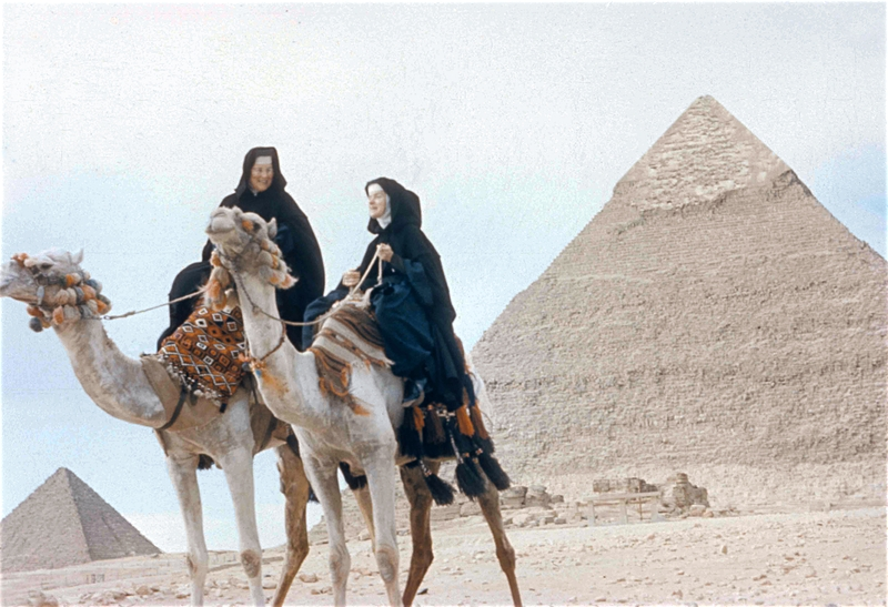Photo of the two Sisters in Egypt, 1959