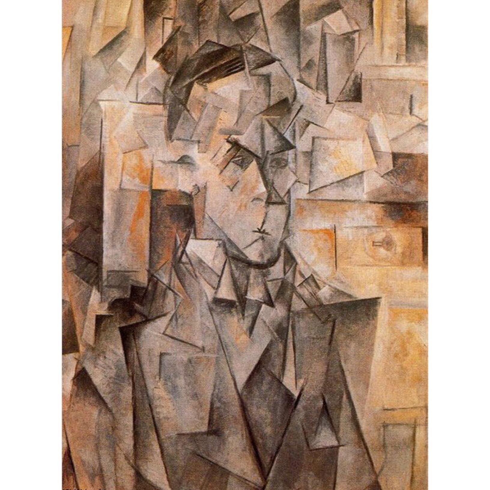 Portrait of Wilhelm Uhde by Pablo Picasso, 1910