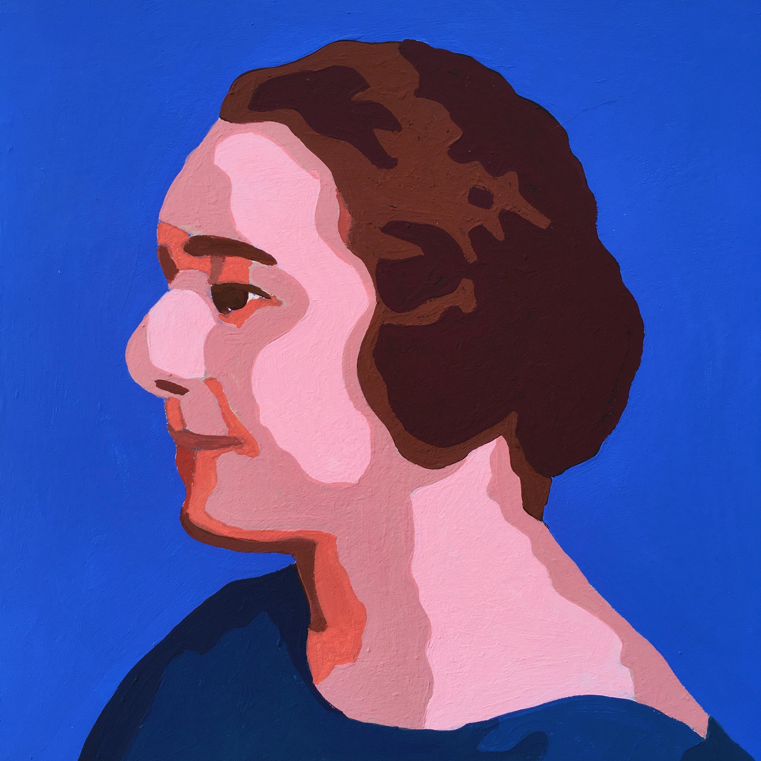 crystal moody | portrait of Sonia Delaunay