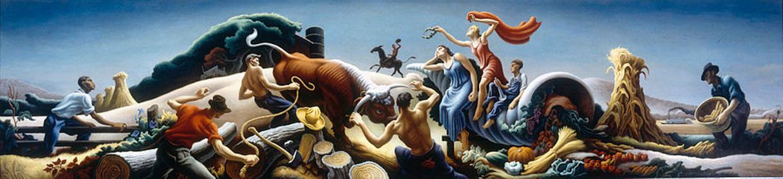 Achelous and Hercules, 1947