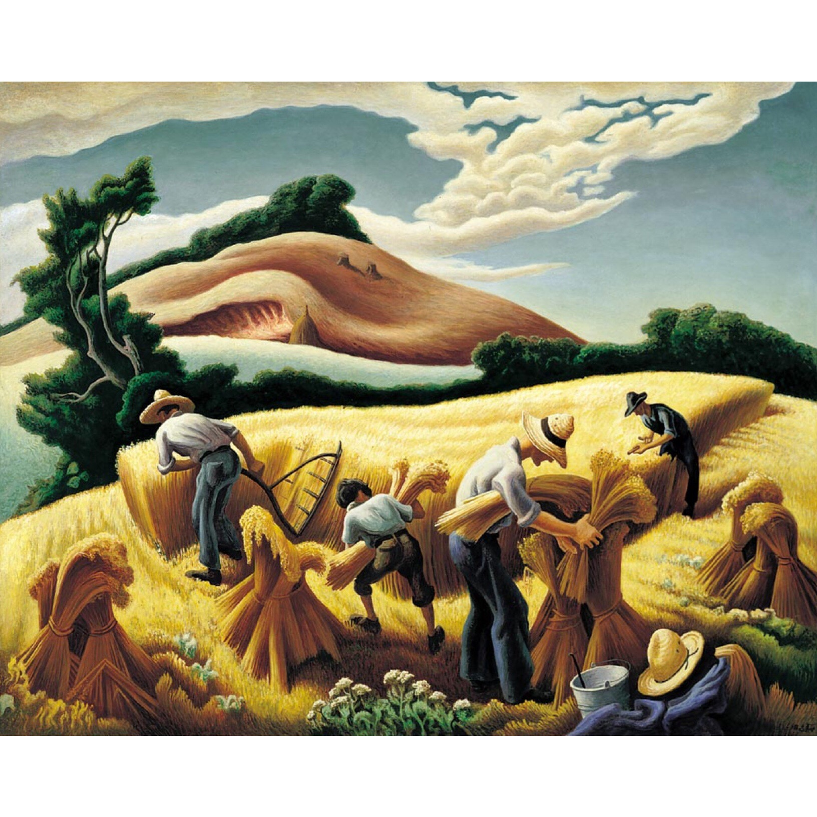 The Harvest of Wheat, 1938