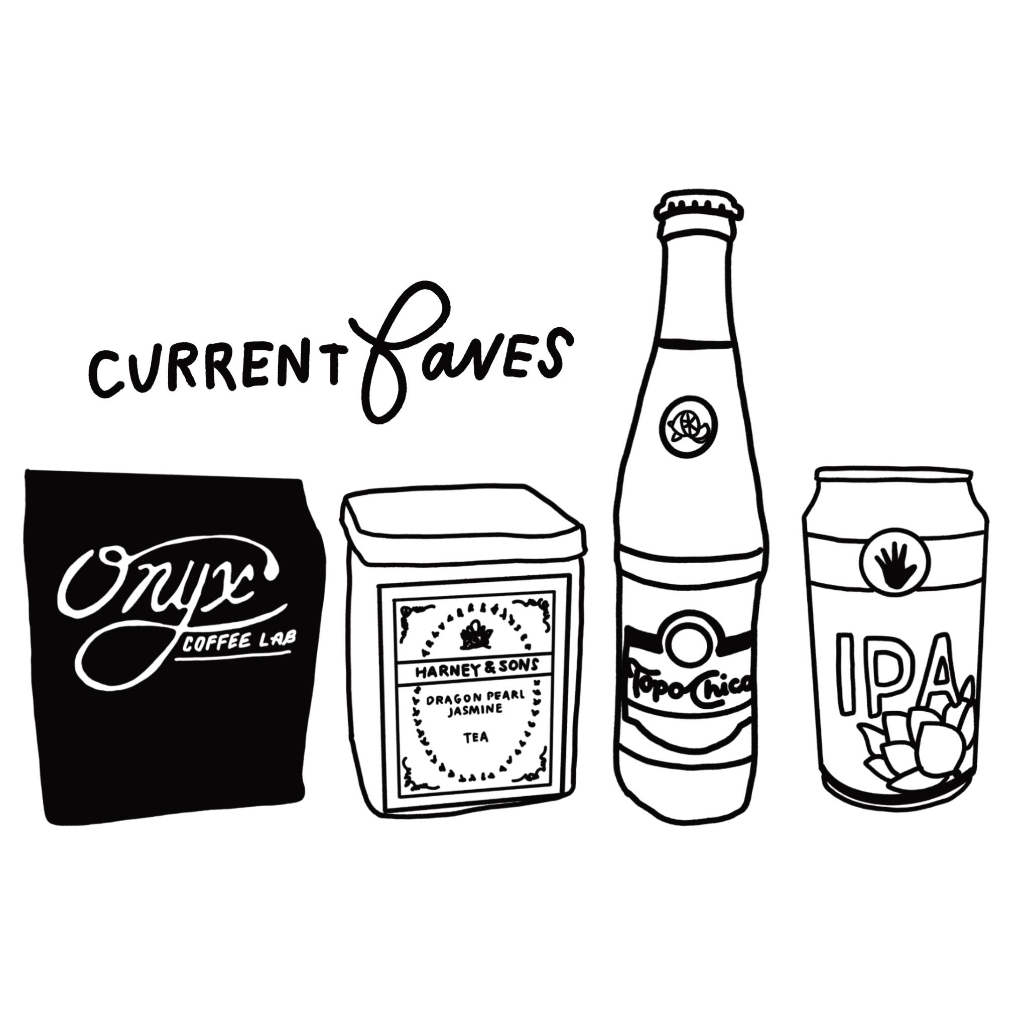 crystal moody | favorite drinks