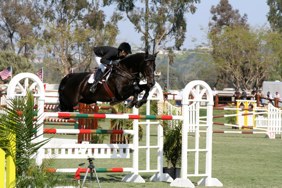 Erin Duffy and Cavalier Knight