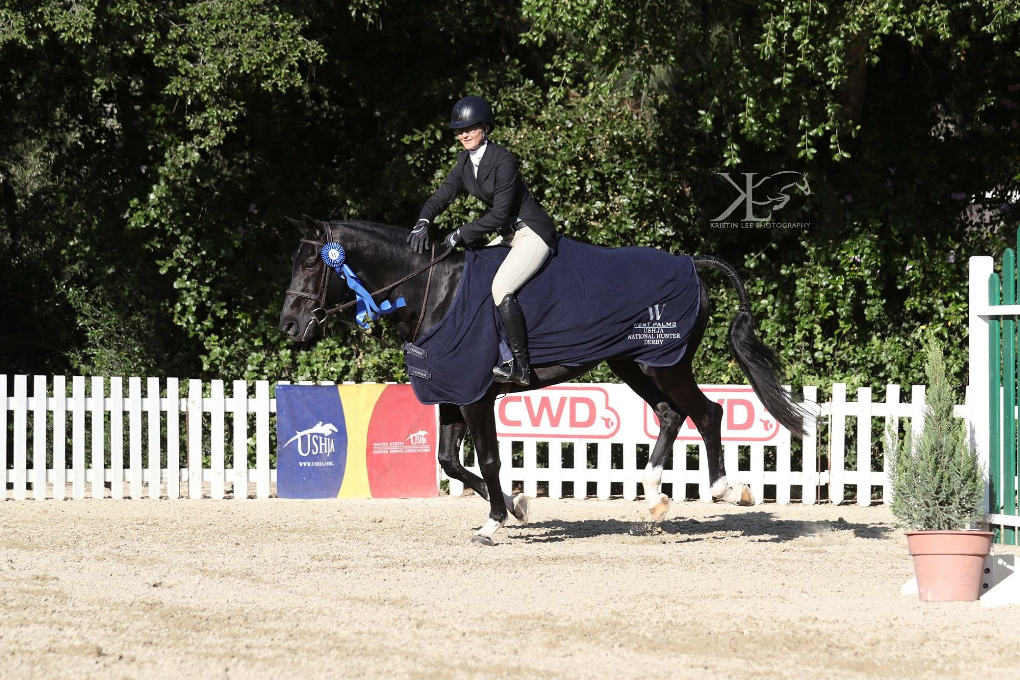 Erin and Black Label winners of the $5000 USHJA National Derby