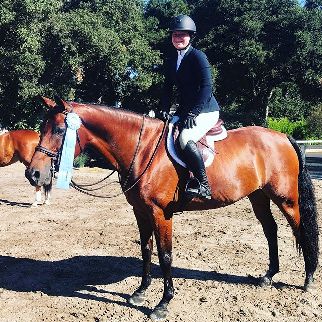 Kathleen Bassett and Lionheart 10th in the A/A Hunter Classic!