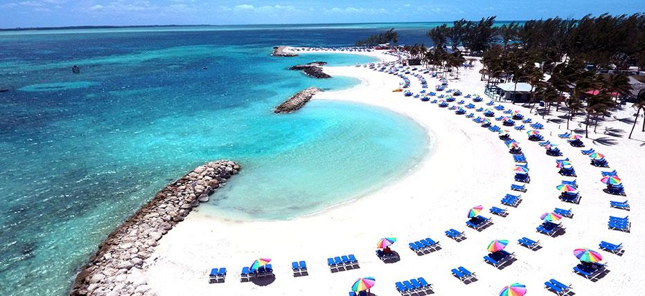 Coco Cay, Bahamas.Photo Courtesy of Royal Caribbean