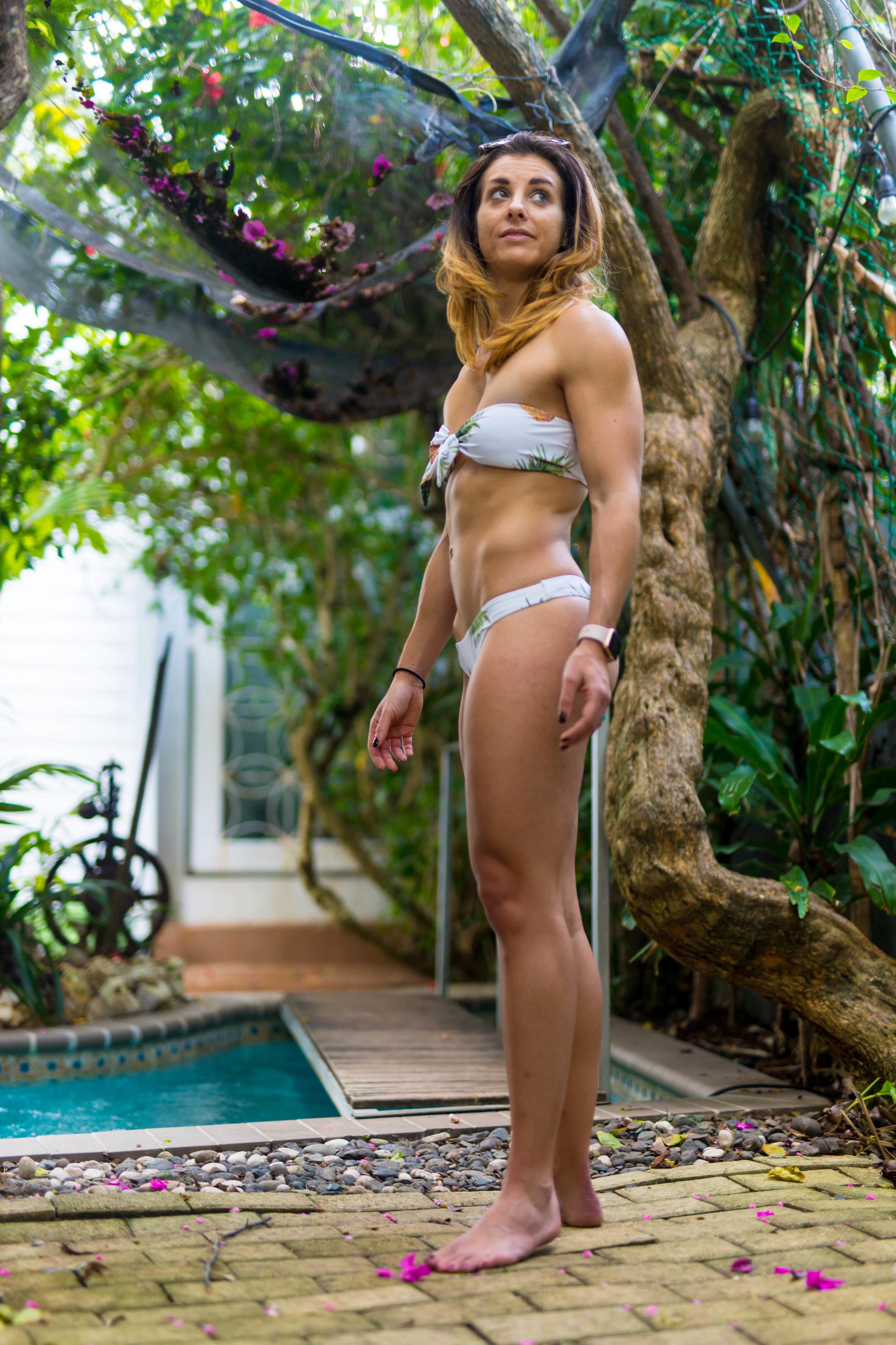 Pineapple Bandeau Bikini
