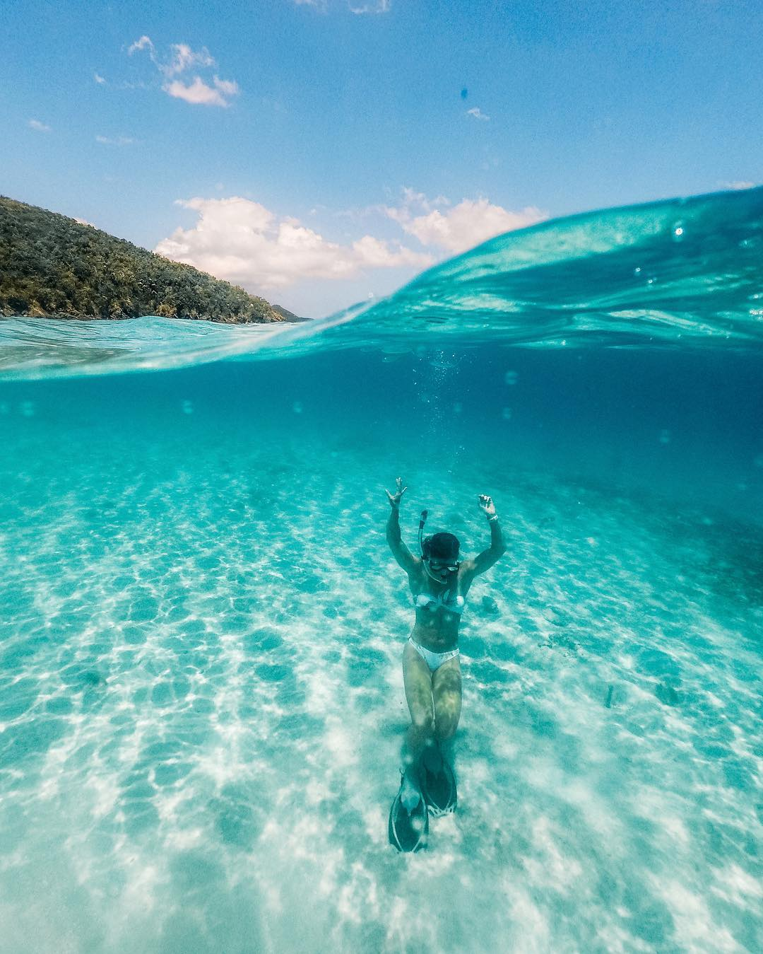 Snorkeling in St. Thomas  with  Sunfari Tours
