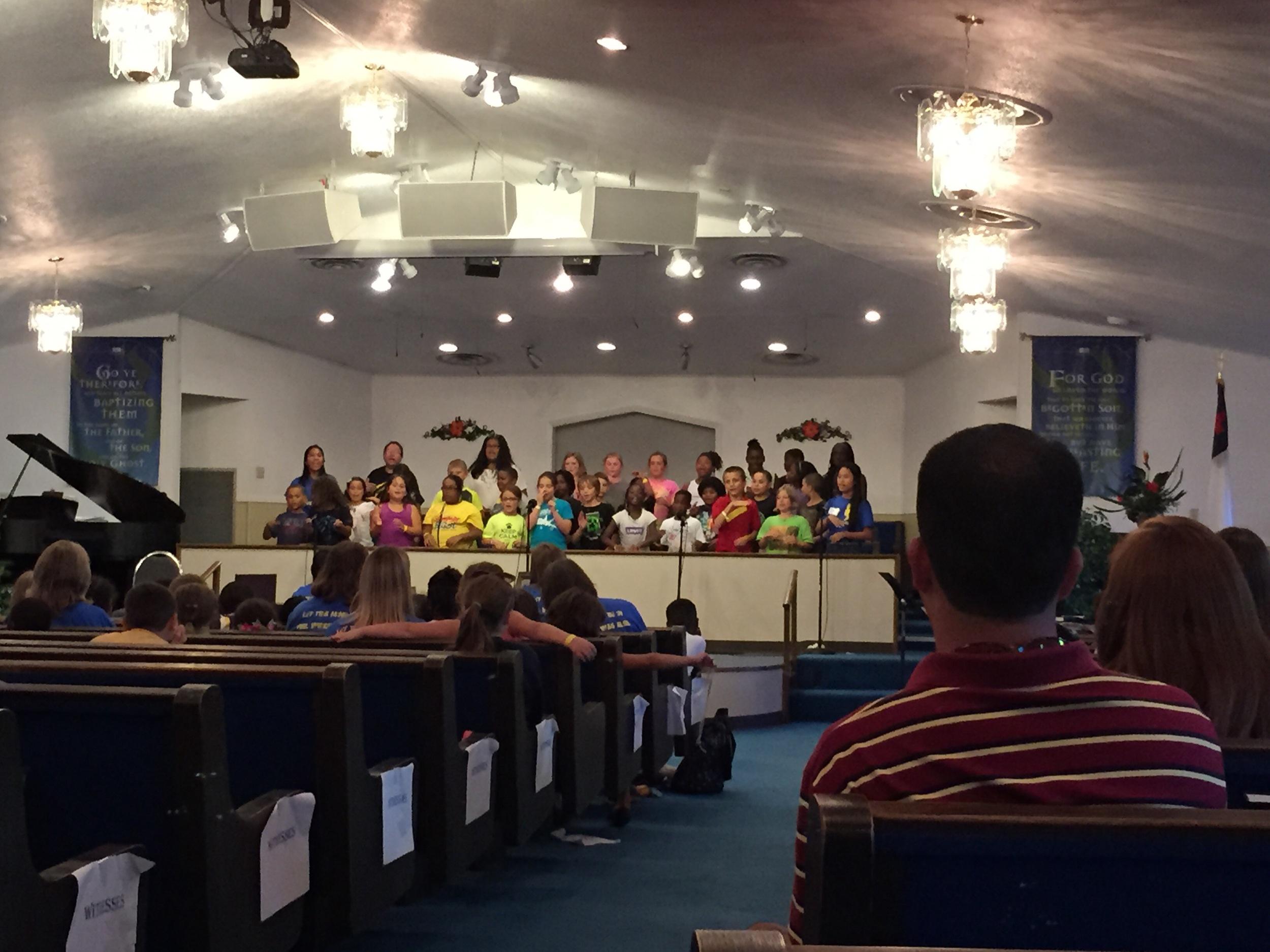 Kids choir!