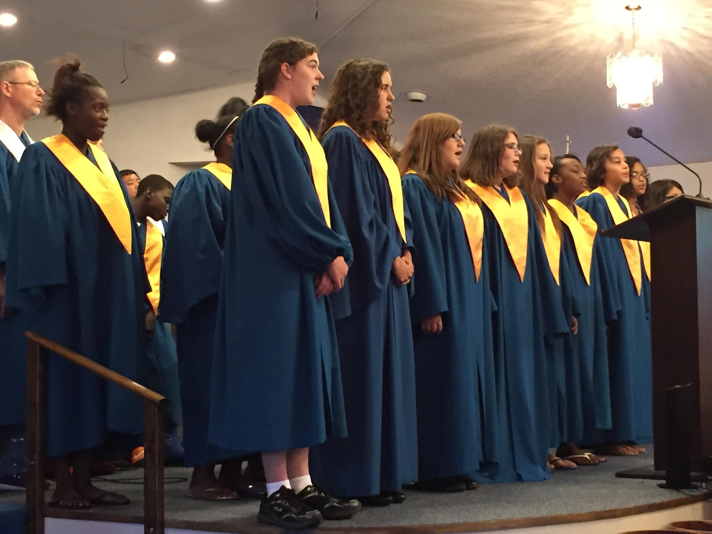 Teen choir!
